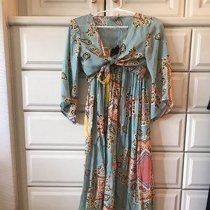 Crop top / skirt set